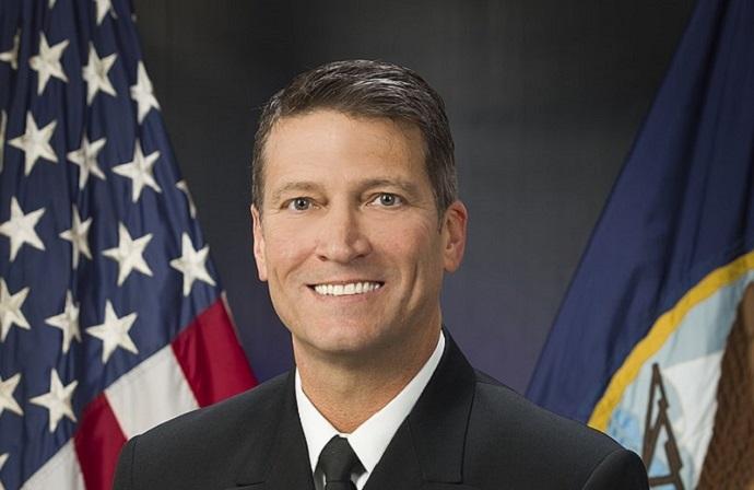 Rear Admiral Ronny Jackson has withdrawn as Presidential VA Secretary nominee.