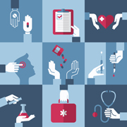 Patient-generated data in healthcare